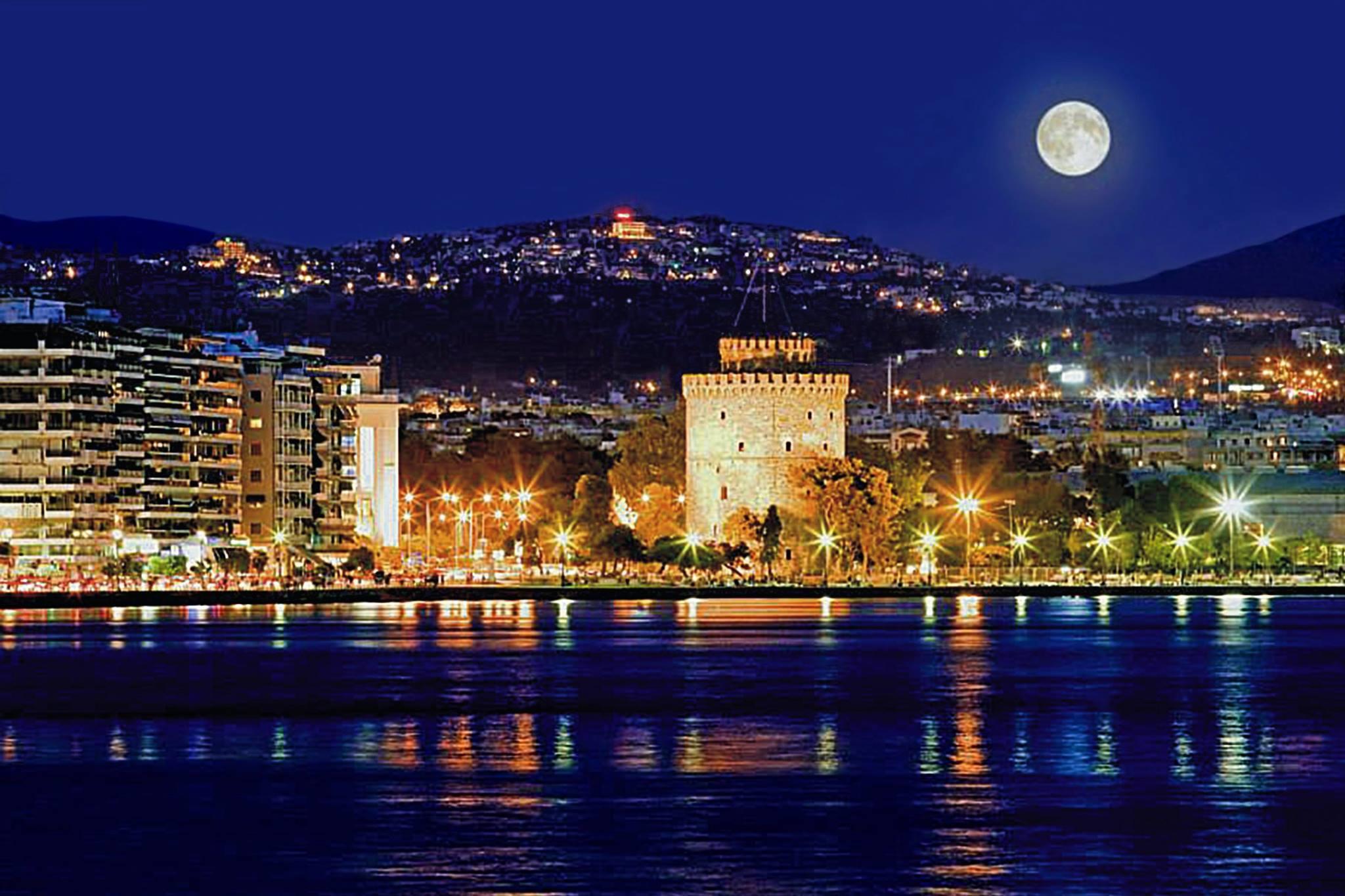 Περιήγηση στην Θεσσαλονίκη Πανοραμική Θεα