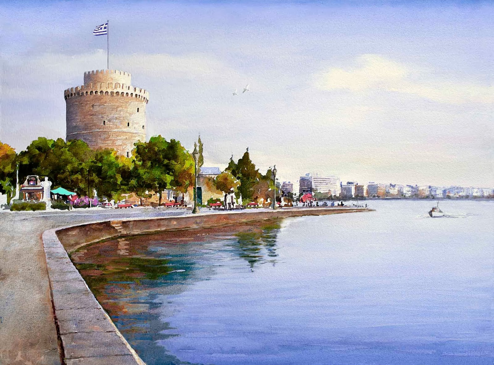 Thessaloniki airport Transfer to White Tower